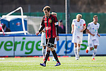 V&auml;llingby 2014-03-30 Fotboll Allsvenskan IF Brommapojkarna - Kalmar FF :  <br />  Brommapojkarnas Pontus Segerstr&ouml;m deppar<br /> (Foto: Kenta J&ouml;nsson) Nyckelord:  BP Brommapojkarna Grimsta Kalmar KFF depp besviken besvikelse sorg ledsen deppig nedst&auml;md uppgiven sad disappointment disappointed dejected
