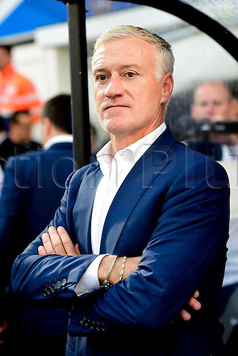 04.06.2016. Stade Saint Symphorien, Metz, France. International football freindly,France versus Scotland.  Didier Deschamps (France) traineur