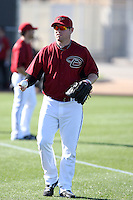 Matt Gorgen, Arizona Diamondbacks 2011 spring training workouts at the Diamondbacks new training complex at Salt River Fields at Talking Stick, Scottsdale, AZ - 02/14/2011.Photo by:  Bill Mitchell/Four Seam Images.