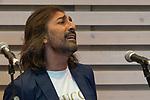 Singer Antonio Carmona during the press conference and rehearsal of Festival Unicos. September 24, 2019. (ALTERPHOTOS/Johana Hernandez)