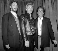 Peter Townsend John Entwhistle Roger Daltry 1990 Rock and Roll Hall of Fame<br /> Photo By John Barrett/PHOTOlink