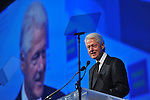 President Bill Clinton speaks at the HRC Annual Gala Dinner on Saturday, October 25, 2014 in Washington, DC. (Larry French / AP Images for Human Rights Campaign)