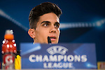 Borussia Dortmund's Fran Bartra during the official press conference before the Champions League match between Real Madrid and Borussia Dortmund at Santiago Bernabeu Stadium in Madrid, Spain. December 06, 2016. (ALTERPHOTOS/BorjaB.Hojas)