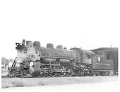 D&amp;RGW #1204 in Montrose.<br /> D&amp;RGW  Montrose, CO  8/23/1940