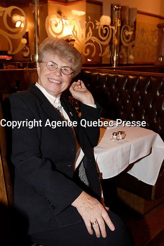 Montreal (Qc) CANADA -Nov 2008 - Soeur Angele