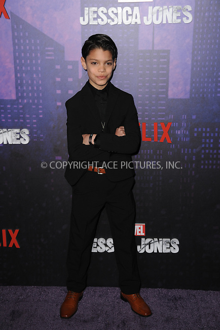 www.acepixs.com<br /> March 7, 2018  New York City<br /> <br /> Kevin Chacon attending attending Marvel's 'Jessica Jones' season 2 TV show premiere on March 7, 2018 in New York City.<br /> <br /> Credit: Kristin Callahan/ACE Pictures<br /> <br /> <br /> Tel: 646 769 0430<br /> Email: info@acepixs.com