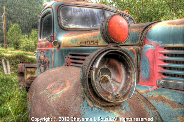 Old Dodge Truck in Silverton, Colorado