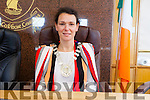 Cllr. Aoife Thornton elected the new Mayor of the Listowel Municipal District in County Buildings on Monday afternoon.