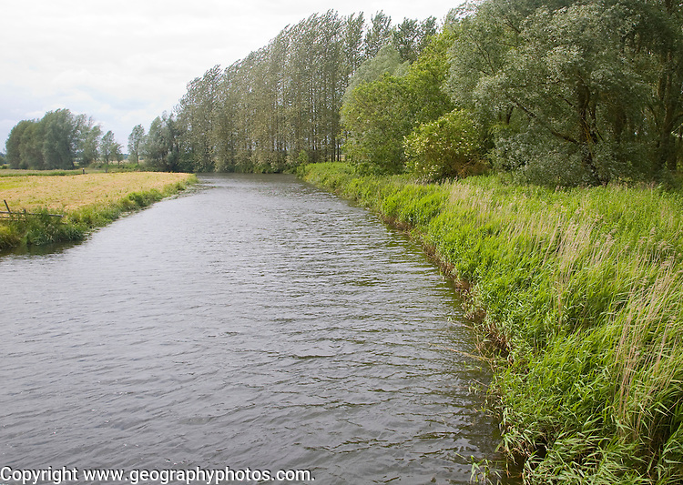 River Waveney at Geldeston Lock, Suffolk Norfolk border, England