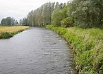 River Waveney at Geldeston Lock, Suffolk Norfolk border, England