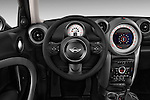 Steering wheel view of a 2011 - 2014 Mini Cooper Countryman SUV