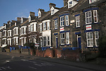 Clarence Road, Norwich, Norfolk, England. Large terraced housing subdivided into flats.