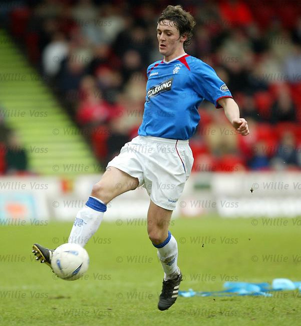 Maurice Ross, Rangers.Stock Season 2003-2004.pic willie vass