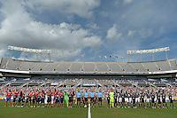 Action photo during the match Costa Rica vs Paraguay, Corresponding Group -A- America Cup Centenary 2016, at Citrus Bowl Stadium<br /> <br /> Foto de accion durante el partido Estados Unidos vs Colombia, Correspondiante al Grupo -A-  de la Copa America Centenario USA 2016 en el Estadio Citrus Bowl, en la foto: Vista General<br /> <br /> <br /> 04/06/2016/MEXSPORT/Isaac Ortiz.