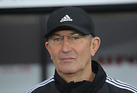 West Bromwich Albion manager Tony Pulis during the Barclays Premier League match between Swansea City and West Bromwich Albion played at the Liberty Stadium, Swansea on December 26 2015