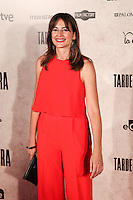 "Cuca Escribano during the premiere of the film ""Tarde para la Ira"" in Madrid. September 08, 2016. (ALTERPHOTOS/Rodrigo Jimenez) /NORTEPHOTO.COM"