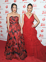 NEW YORK, NY - FEBRUARY 07: Brie Bella and Nicki Bella  attends The American Heart Association's Go Red For Women Red Dress Collection 2019 Presented By Macy's at Hammerstein Ballroom on February 7, 2019 in New York City.     <br /> CAP/MPI/GN<br /> &copy;GN/MPI/Capital Pictures