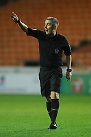 Referee Darren Bond<br /> <br /> Photographer Kevin Barnes/CameraSport<br /> <br /> Emirates FA Cup Third Round Replay - Blackpool v Reading - Tuesday 14th January 2020 - Bloomfield Road - Blackpool<br />  <br /> World Copyright © 2020 CameraSport. All rights reserved. 43 Linden Ave. Countesthorpe. Leicester. England. LE8 5PG - Tel: +44 (0) 116 277 4147 - admin@camerasport.com - www.camerasport.com