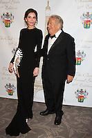 Lola Karimova-Tillyyaeva &amp; Massimo Gargia : &quot; The Best &quot; 40th Edition &agrave; l'h&ocirc;tel George V.<br /> France, Paris, 27 janvier 2017.<br /> ' The Best ' 40th Edition at the George V hotel in Pais.<br /> France, Paris, 27 January 2017