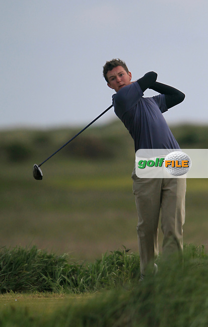 John Ross Galbraith (Whitehead)<br /> during the 2nd round of the East of Ireland Amateur Open Championship 2013 Co Louth Golf club 2/6/13<br /> Picture:  Thos Caffrey / www.golffile.ie