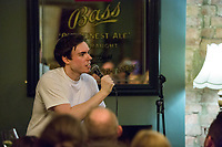 13th July 2019: Comedian Rhys James performs his show 'Snitch' on day 1 of the 2019 Comedy Crate Festival in Northampton
