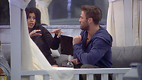 Celebrity Big Brother 2017<br /> Marissa Jade and Chad Johnson<br /> *Editorial Use Only*<br /> CAP/KFS<br /> Image supplied by Capital Pictures