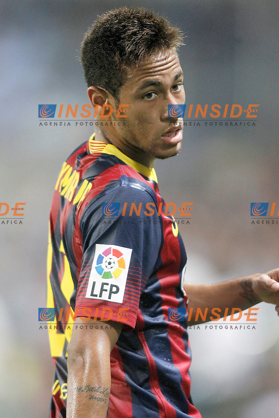 FC Barcelona's Neymar Santos Jr during La Liga match.August 25,2013. (ALTERPHOTOS/Acero) <br /> Football Calcio 2013/2014<br /> La Liga Spagna<br /> Foto Alterphotos / Insidefoto <br /> ITALY ONLY