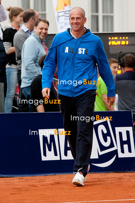 """Guy Forget - Sixième Edition de la """" Legends Cup """", à Namur en Belgique..Belgique, Namur, 15/16 juin 2012..."""
