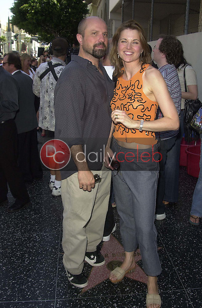 Enrico Colantoni and Lucy Lawless