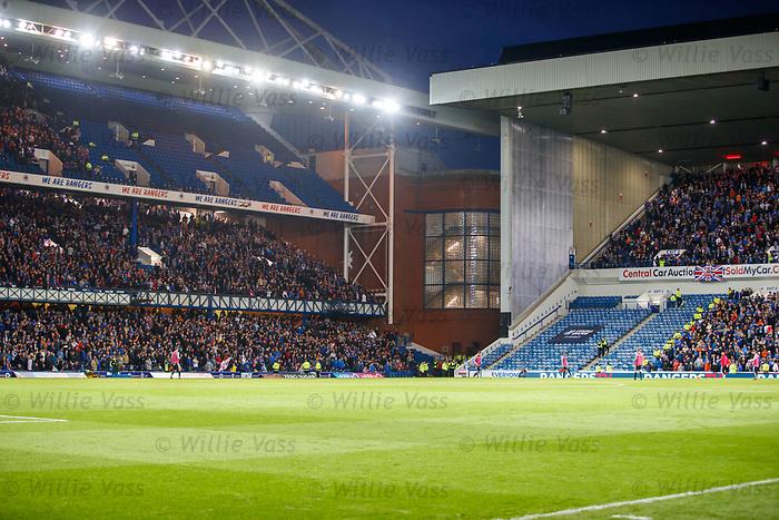 29.08.2019 Rangers v Legia Warsaw: empty seats