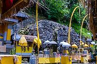 Bali, Gianyar, Goa Gajah. The elephant cave. The cave entrance area.