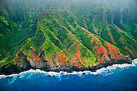 Na Pali coast, Kauai, Hawaii, Pacific Ocean