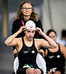 Lima, Peru -  28/August/2019 -  Michelle Tovizi competes in the women's 50m freestyle S7 at the Parapan Am Games in Lima, Peru. Photo: Dave Holland/Canadian Paralympic Committee.