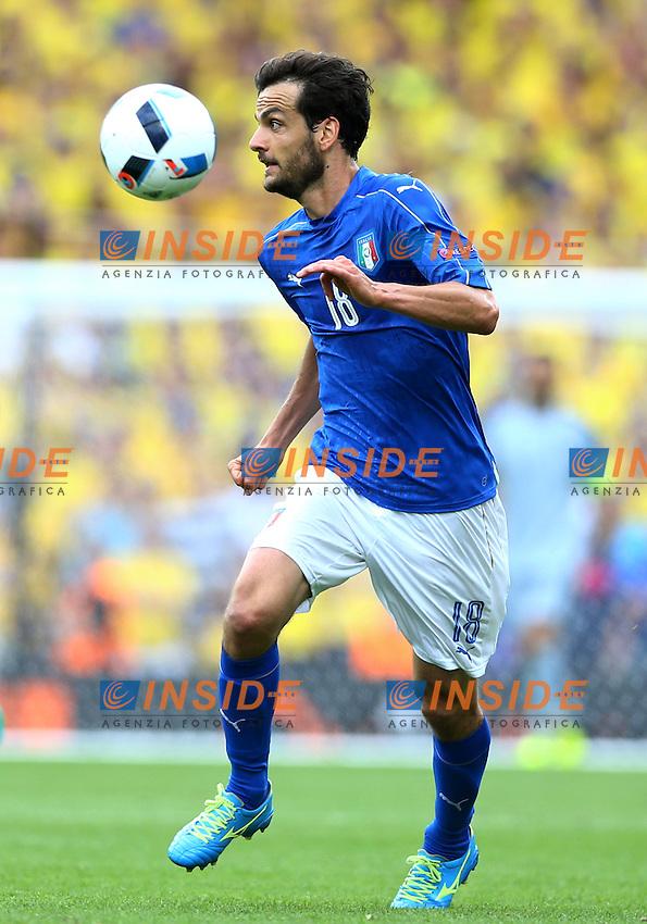 Marco Parolo Italy <br />Toulouse 17-06-2016 Stade Velodrome Footballl Euro2016 Italy - Sweden  / Italia - Svezia Group Stage Group E. Foto Matteo Ciambelli / Insidefoto