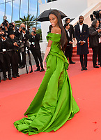 """Winnie Harlow at the gala screening for """"BLACKKKLANSMAN"""" at the 71st Festival de Cannes, Cannes, France 14 May 2018<br /> Picture: Paul Smith/Featureflash/SilverHub 0208 004 5359 sales@silverhubmedia.com"""