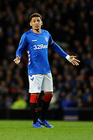 James Tavernier of Rangers during Rangers vs Villarreal CF, UEFA Europa League Football at Ibrox Stadium on 29th November 2018