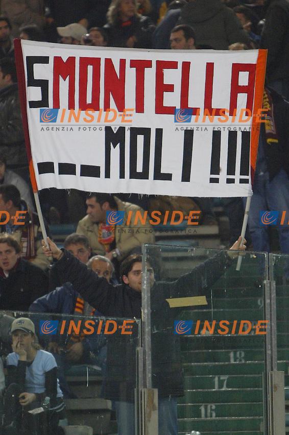 Roma 21/3/2004 CAMPIONATO ITALIANO SERIE A <br /> LAZIO ROMA<br /> <br /> Foto Andrea Staccioli Insidefoto
