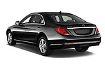 Car pictures of rear three quarter view of 2017 Mercedes Benz S-Class Executive-Line 4 Door Sedan Angular Rear