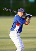 Tony Campana / AZL Cubs..Photo by:  Bill Mitchell/Four Seam Images
