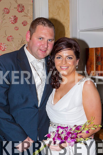 Mags O'Keeffe, Cullen daughter of Pat and Moira, and Donal Preston, Dundalk, Co Louth, who were married in St Lucia, Carribean, on 23 October and held their evening reception in the Dromhall Hotel on Saturday