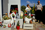 ALL HALLOWS ON SEA, MOBILE HOME PARK, GNOME & OTHER STONE GARDEN ORNAMENT LOVERS, 1991