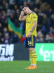 Arsenal's Granit Xhaka looks dejected at the final whistle after the Premier League match at Selhurst Park, London. Picture date: 11th January 2020. Picture credit should read: Paul Terry/Sportimage