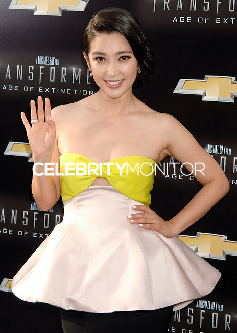 NEW YORK CITY, NY, USA - JUNE 25: Actress Li Bingbing arrives at the New York Premiere Of Paramount Pictures' 'Transformers: Age Of Extinction' held at the Ziegfeld Theatre on June 25, 2014 in New York City, New York, United States. (Photo by Celebrity Monitor)