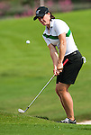 CHON BURI, THAILAND - FEBRUARY 16:  Katie Futcher of USA chips into the 16th green during day one of the LPGA Thailand at Siam Country Club on February 16, 2012 in Chon Buri, Thailand.  Photo by Victor Fraile / The Power of Sport Images