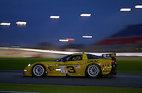 "The #3 ""Earnhardt"" Corvette..39th Rolex 24 at Daytona, 3/4 February,2001 Daytona International Speedway  Daytona Beach,Florida,USA.©F.Peirce Williams 2001 .."
