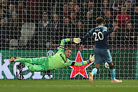 Dele Alli of Tottenham Hotspur sees his goal ruled out for offside during West Ham United vs Tottenham Hotspur, Caraboa Cup Football at The London Stadium on 31st October 2018