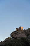 Utah, Hovenweep National Monument, Square Tower group, Ancient Pueblo or Anasazi people, archeology, sunrise, U.S.A., Southwest America,