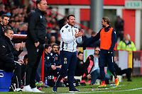 Stevenage manager Darren Sarll during Stevenage vs Notts County, Sky Bet EFL League 2 Football at the Lamex Stadium on 11th November 2017