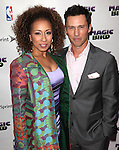 "Tamara Tunie & Jeffrey Donovan pictured at the ""Magic/Bird"" Opening Night Arrivals at the Longacre Theatre in New York City on April 11, 2012 © Walter McBride / WM Photography  Ltd."