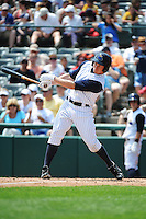 Trenton Thunder outfielder Slade Heathcott (11) during game against the Richmond Flying Squirrels at ARM & HAMMER Park on June 9 2013 in Trenton, NJ.  Trenton defeated Richmond 3-2.  Tomasso DeRosa/Four Seam Images